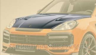 MANSORY engine bonnet for Porsche Cayenne Coupe