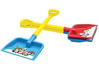 """Детская лопата """"Зимняя сказка"""" для игры со снегом."""