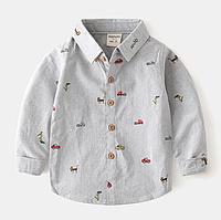 Детская рубашка  92, 104, 110, 122, 128