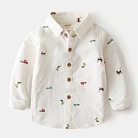Детская рубашка  92, 104, 122, 128