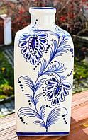Очаровательная ваза,бутылка!Ручная роспись!ENGLAND