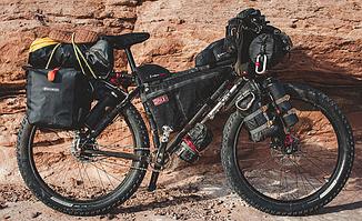 Как выбрать сумку на велосипед?