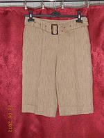 Льняные классические шорты