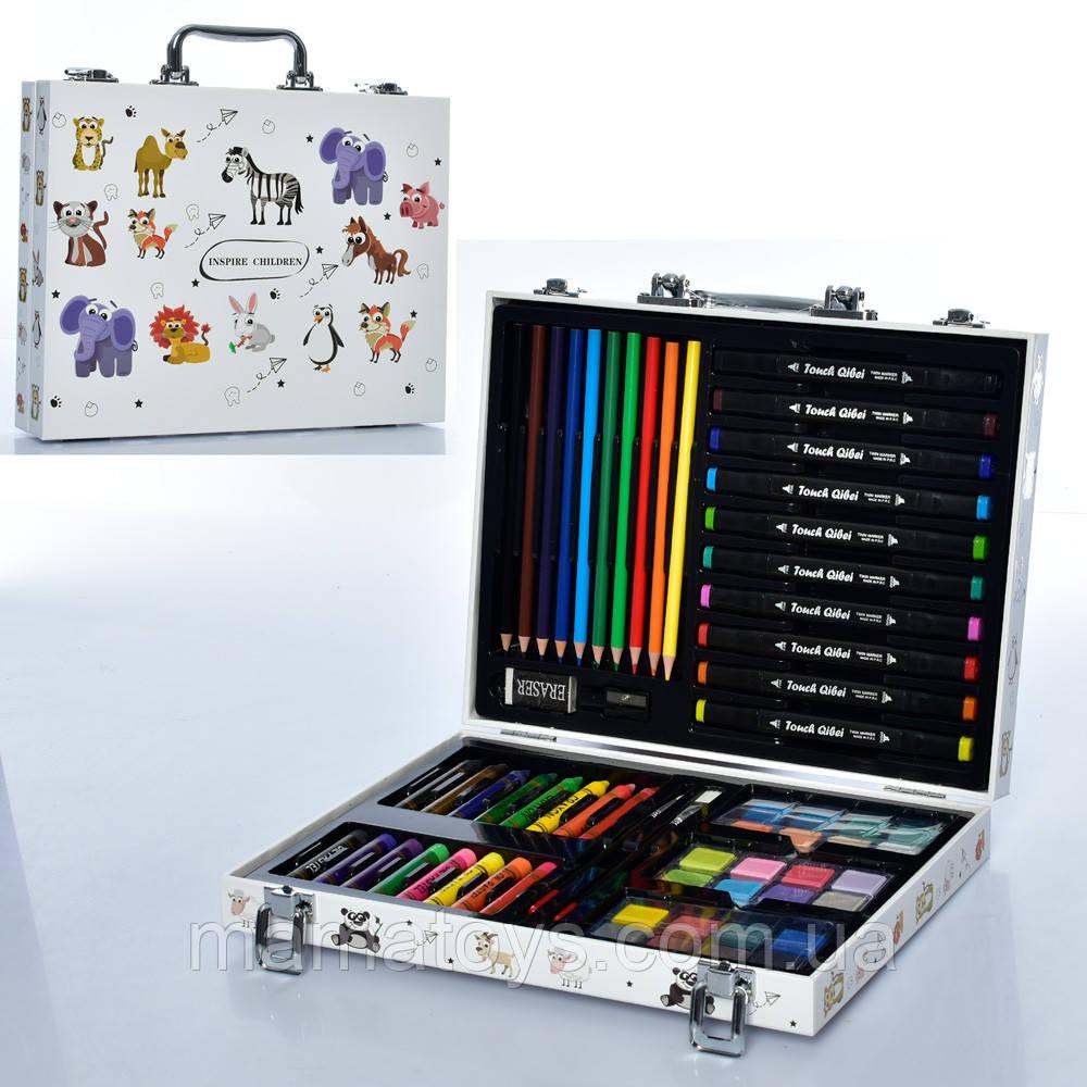 Детский набор для рисования MK 4760-2 фломастеры, карандаши, краски