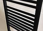 Полотенцесушитель водяной Klaro 500 x666 мм для закрытых систем отопления цвет-черный, фото 2