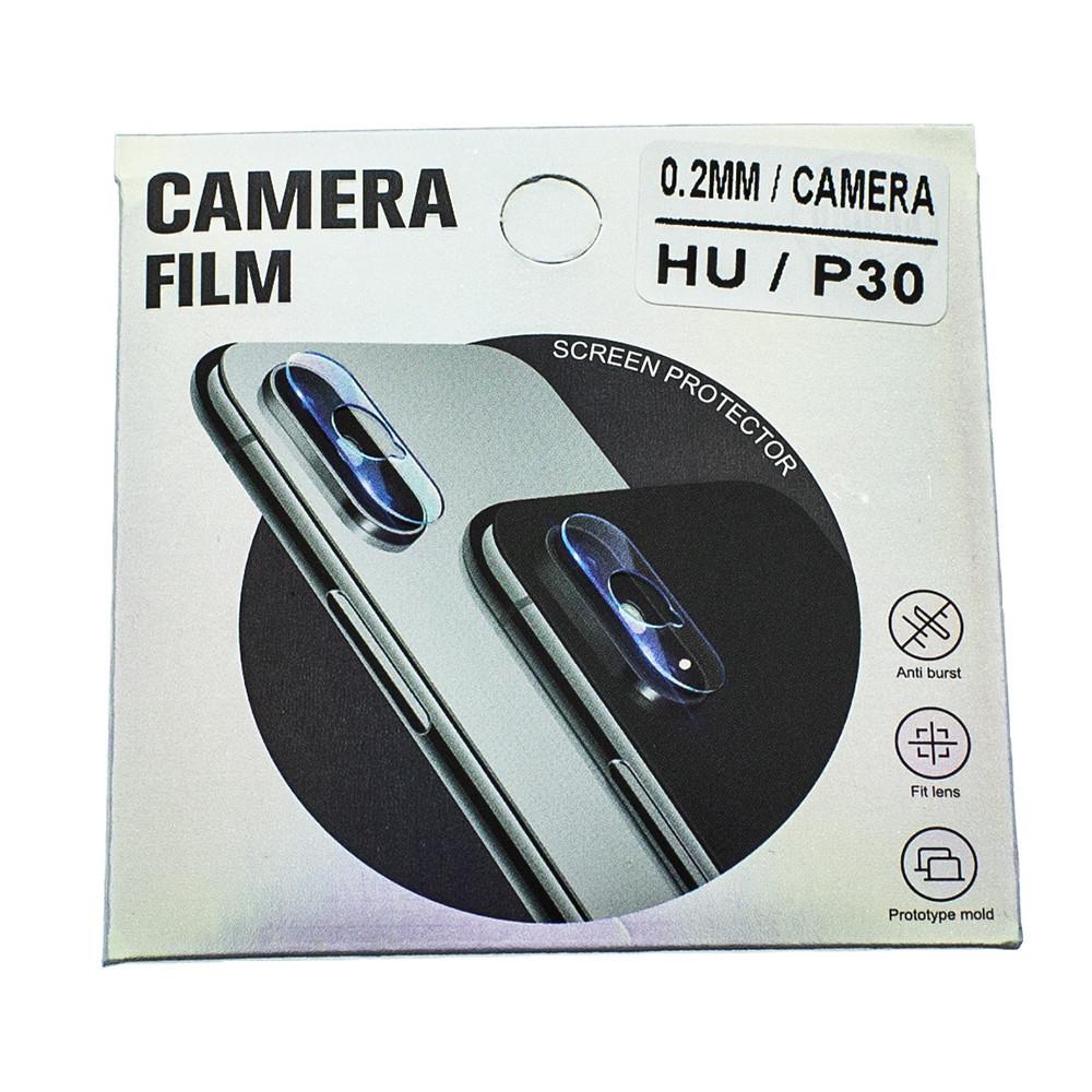 Защитное стекло Mirror для камеры Huawei P30 ELE-L29/ ELE-L09 Прозрачный