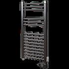 Полотенцесушитель електричний, Zehnder Aura, 786 х 400 мм, з програмованим теном 300 Вт, чорний матовий, фото 6