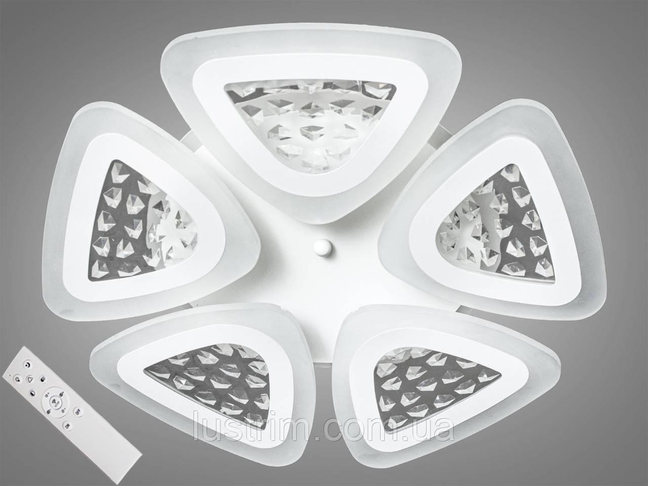 Потолочная светодиодная люстра с диммером 120W
