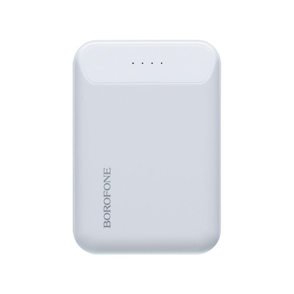 Портативная батарея Power Bank Borofone BT17 LED индикатор 10000 mAh Белый