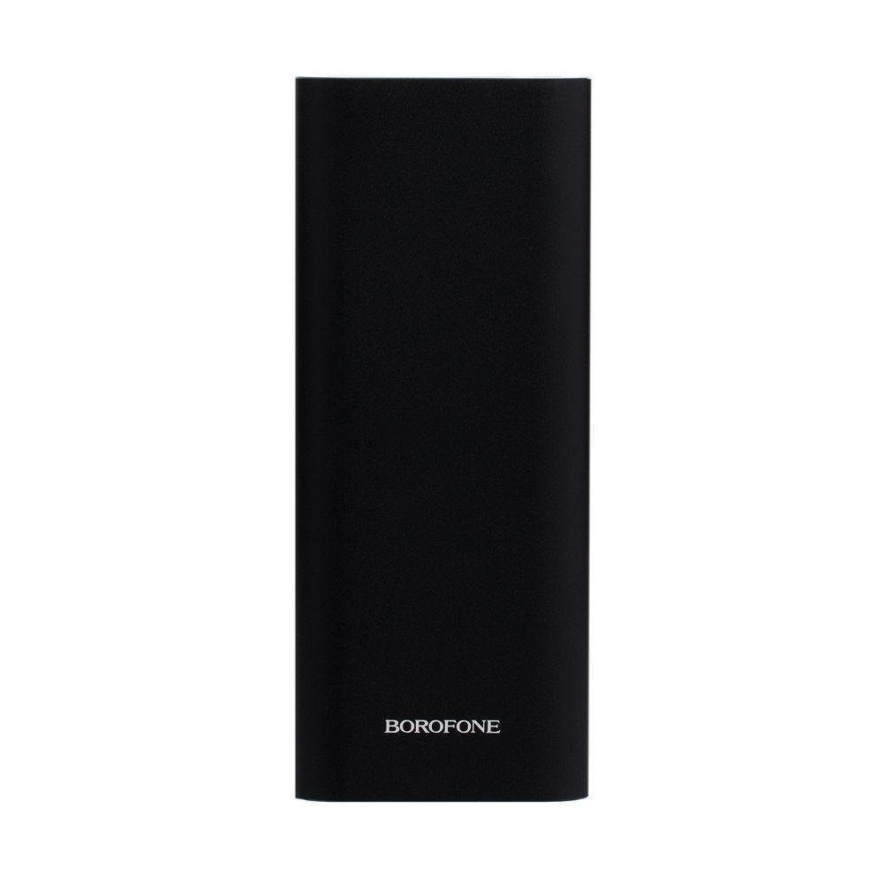Портативная батарея Power Bank Borofone BT19B LED индикатор 20000 mAh Чёрный