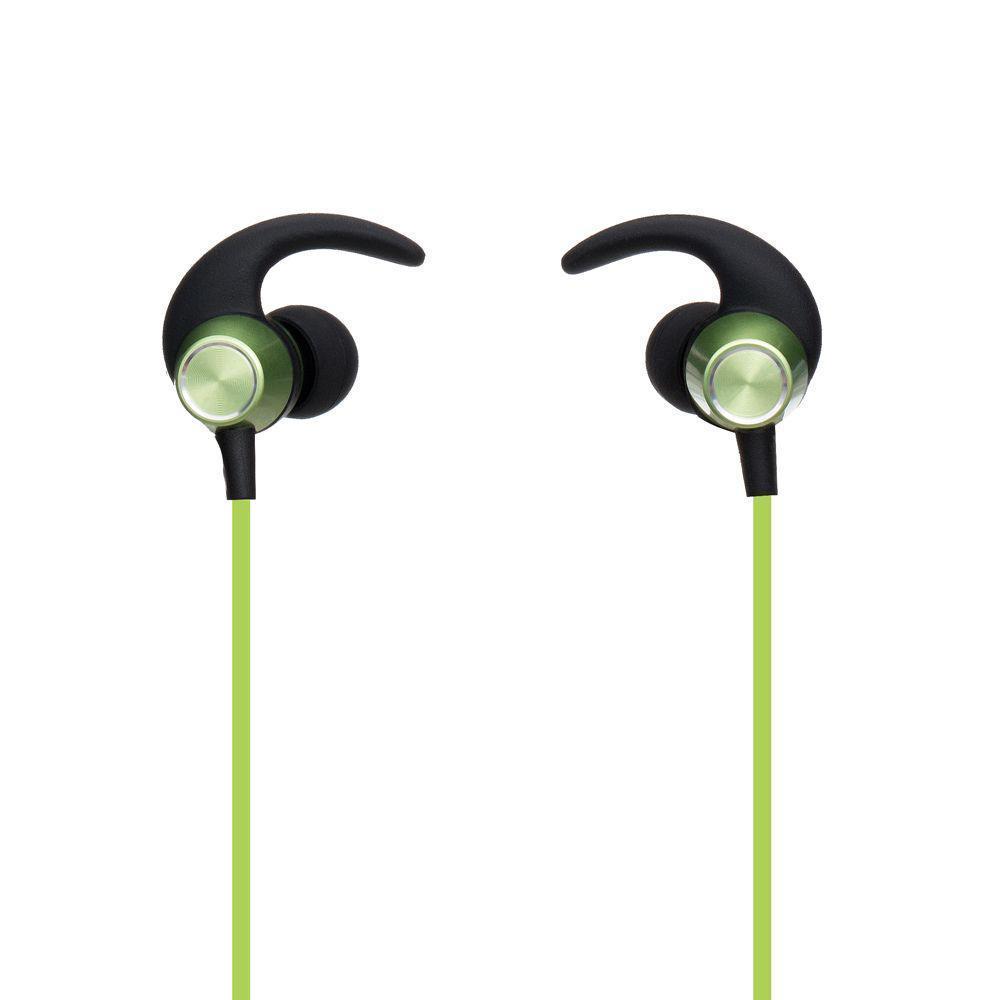 Беспроводная гарнитура Yison E14 Bluetooth стерео наушники Зелёные