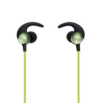 Бездротова гарнітура Yison E14 Bluetooth стерео навушники Зелені