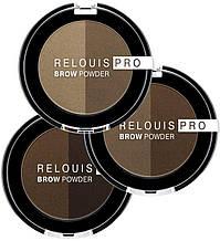 Тіні для брів Relouis PRO BROW POWDER 1 Blonde