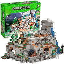 "Конструктор лего Майнкрафт Minecraft Гірська печера"" 2886 деталей"