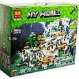 "Конструктор лего Майнкрафт Minecraft Гірська печера"" 2886 деталей, фото 2"