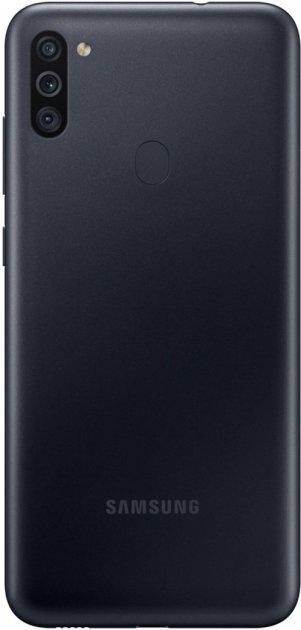 Смартфон Samsung Galaxy M11 3/32GB Black (SM-M115FZKNSEK)