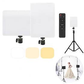 Комплект постійного студійного світла Camera light MM-240 Ra95+ LED (набір блогера)