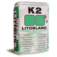 Litokol Litoblanc K2 Экстрабелый мелкофракционный клей для мозаики