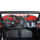 Детский электромобиль на аккумуляторе Багги M 4567 (MP4) с пультом радиоуправления для детей 3-8 лет красный, фото 2
