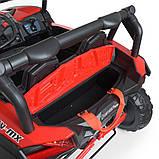 Детский электромобиль на аккумуляторе Багги M 4567 (MP4) с пультом радиоуправления для детей 3-8 лет красный, фото 8