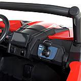 Детский электромобиль на аккумуляторе Багги M 4567 (MP4) с пультом радиоуправления для детей 3-8 лет красный, фото 9
