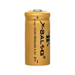 Акумулятор 16340 1200mAh 3.7 V