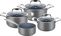 Набор посуды lamart lthset7 7 предметов 1.7 + 2.4 + 3.2 + 1.5л. (3 кастрюли + ковш)