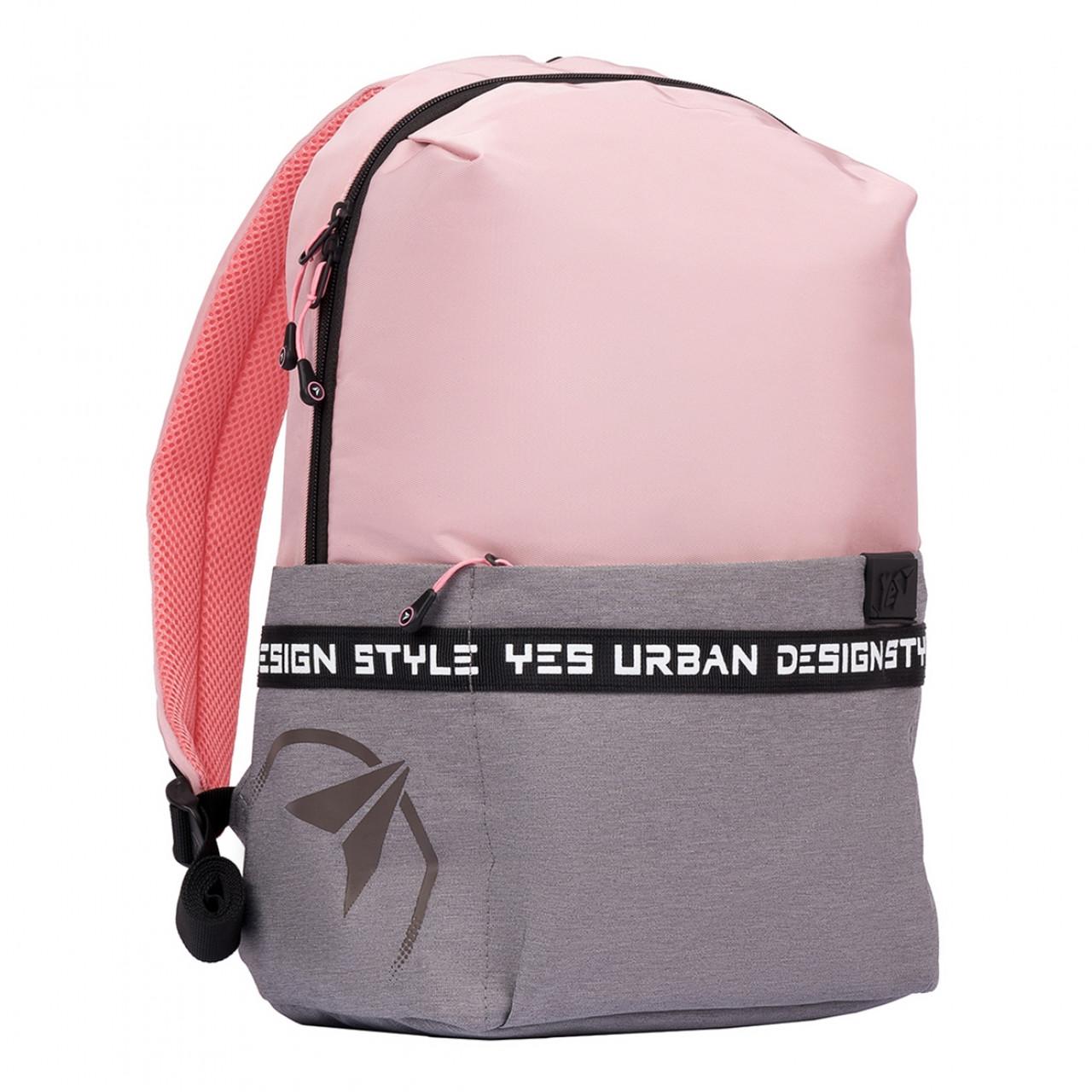 Рюкзак YES T-105 Rose Чорний/рожевий (556315)
