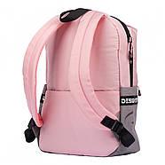 Рюкзак YES T-105 Rose Чорний/рожевий (556315), фото 3