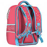 Рюкзак шкільний 1Вересня S-105 Pretty Кораловий (558323), фото 2