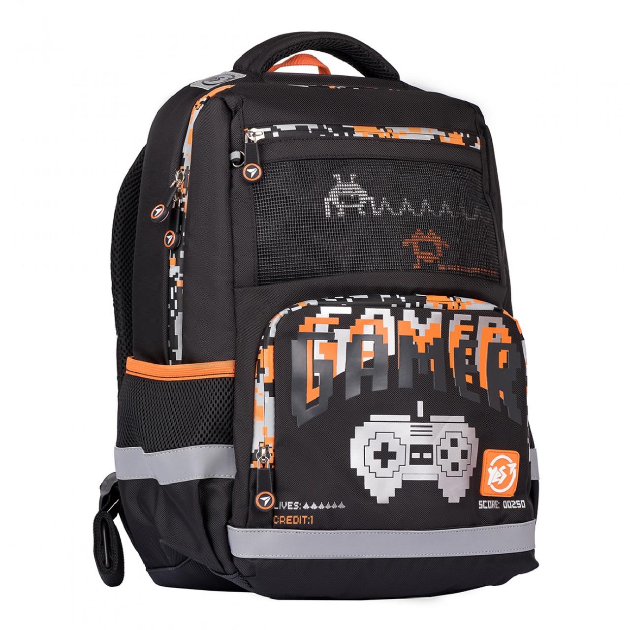 Рюкзак YES S-50 Gamer Чорний (557997)