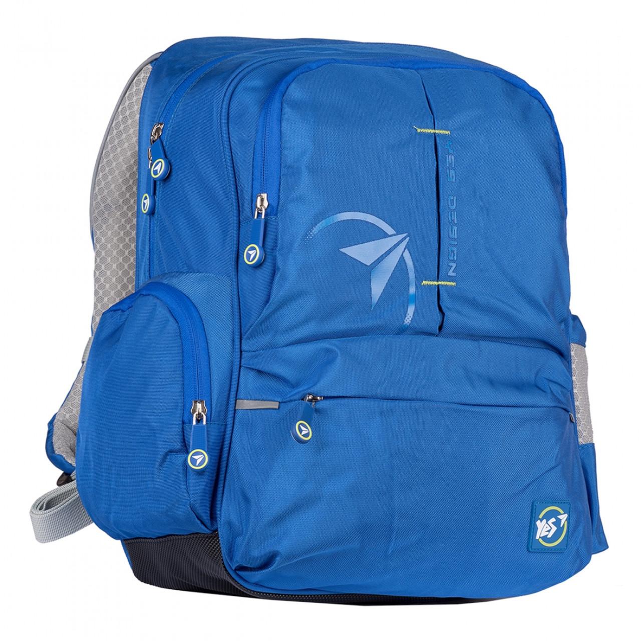 Рюкзак YES S-80-1 College Синій (557872)