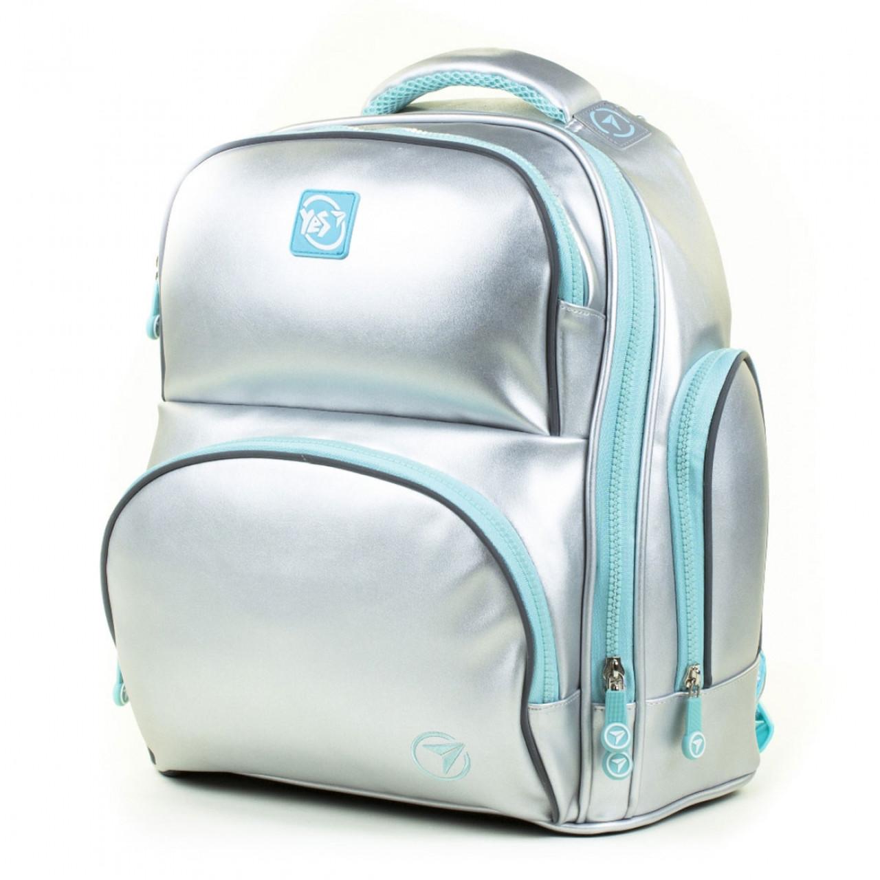 Рюкзак шкільний YES S-30 Juno MAX College Срібний (558455)