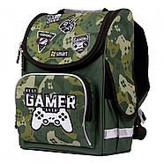 Рюкзак шкільний каркасний SMART PG-11 Best Gamer Зелений (557016), фото 2