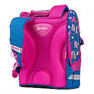 Рюкзак шкільний каркасний SMART PG-11 Unicorn Синій (556575), фото 4