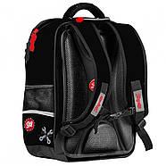 Рюкзак шкільний 1Вересня S-105 Dirt Track Чорний (555098), фото 2