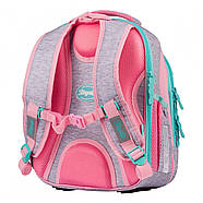 Рюкзак шкільний 1Вересня S-106 Best Friend Рожевий/сірий (551640), фото 3