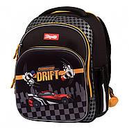 Рюкзак шкільний 1Вересня S-106 MAXDRIFT Чорний (552290), фото 2