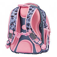 Рюкзак шкільний 1Вересня S-107 Purrrfect Рожевий/сірий (552001), фото 3