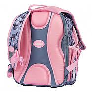 Рюкзак шкільний 1Вересня S-107 Purrrfect Рожевий/сірий (552001), фото 4
