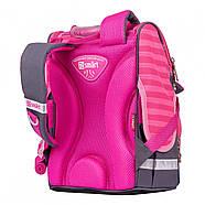 Рюкзак шкільний каркасний SMART PG-11 Cat rules Рожевий/чорний (556515), фото 4