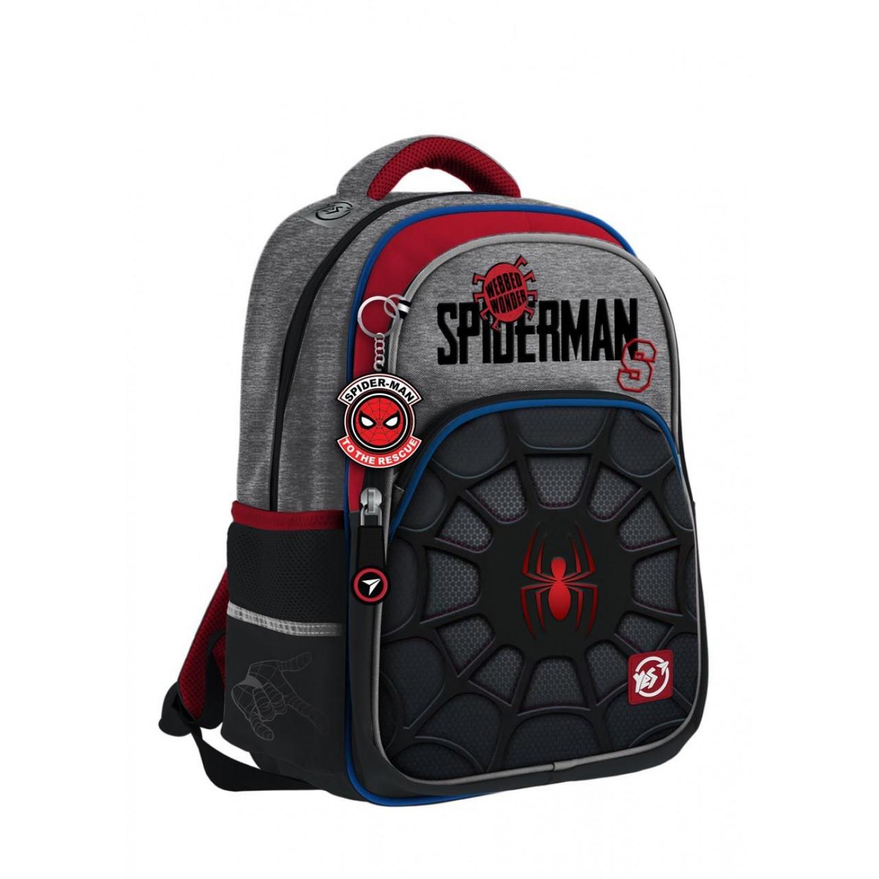 Рюкзак YES S-40 Marvel.Spider-man Чорний/сірий (558795)