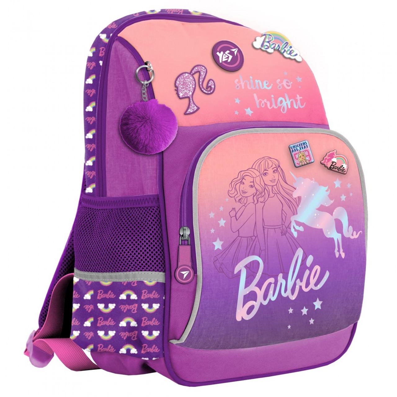 Рюкзак YES S-60 Barbie Бузковий (555484)