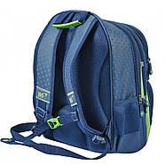 Рюкзак шкільний YES S-30 Juno School time Синій/зелений (558011), фото 2