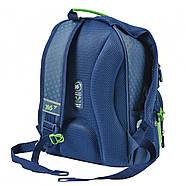 Рюкзак шкільний YES S-30 Juno School time Синій/зелений (558011), фото 3