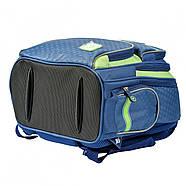 Рюкзак шкільний YES S-30 Juno School time Синій/зелений (558011), фото 4