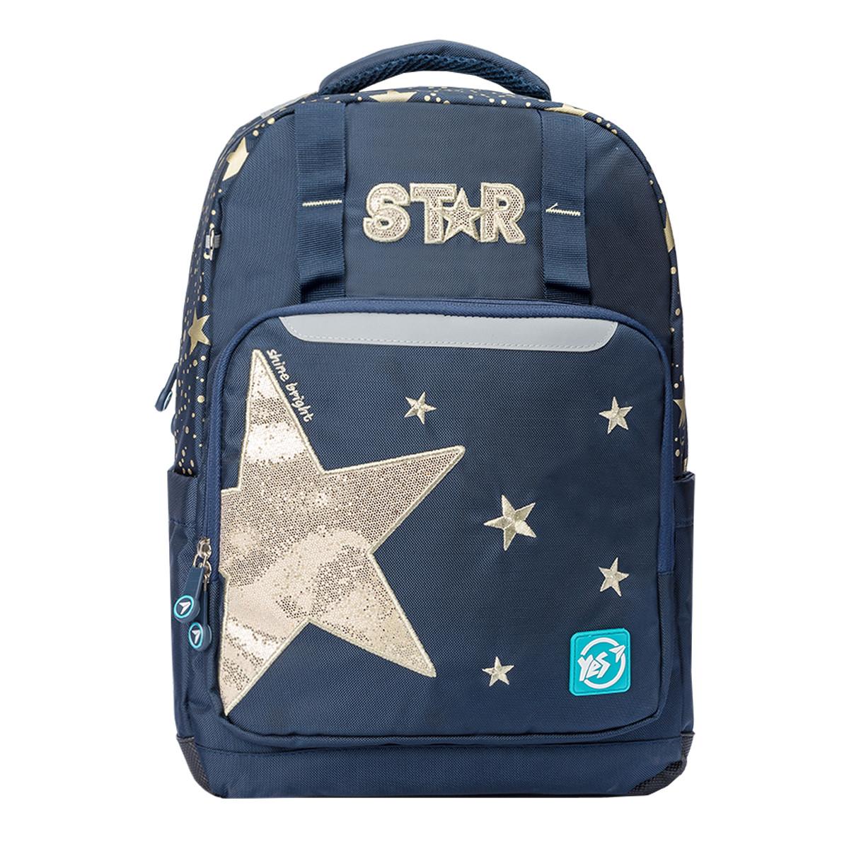 Рюкзак шкільний YES Т-89 Star Синій