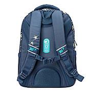 Рюкзак шкільний YES Т-89 Star Синій, фото 2