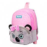 Рюкзак дошкільний 1Вересня K-42 Koala Рожевий/сірий (557878), фото 2