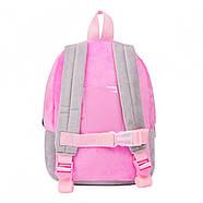 Рюкзак дошкільний 1Вересня K-42 Koala Рожевий/сірий (557878), фото 3